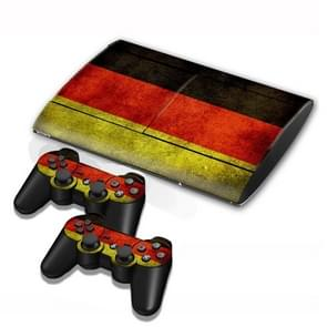 Germany Vlag patroon Stickers voor PS3 Game Console