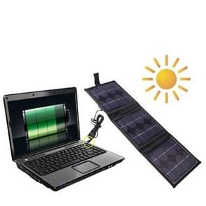 Draagbare 3 x 2 5-inch W zonnepaneel-Multi-functionele acculaders  kan het Charge PC met DC stekker