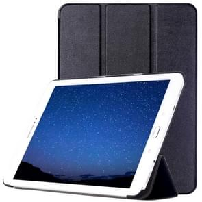 Samsung Galaxy Tab S2 9.7 / T815 horizontaal PU leren Flip Hoesje met drievouws houder (zwart)
