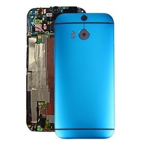 Achterzijde van de behuizing voor HTC One M8(Blue)
