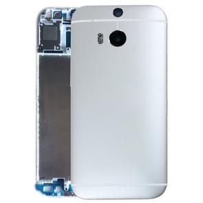 Achterzijde van de behuizing voor HTC One M8(Silver)