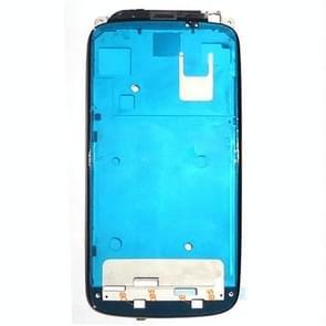 Voorzijde huisvesting LCD Frame Bezel plaat vervanging voor HTC One S(Black)