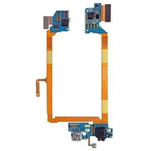 USB-poort Connector Flex kabel & microfoon opladen Flex kabel voor LG G2 / LS980