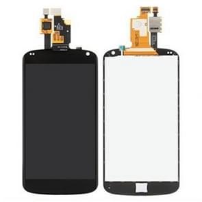 LCD-scherm + Touch Panel vervanging voor Google Nexus 4 / E960(Black)