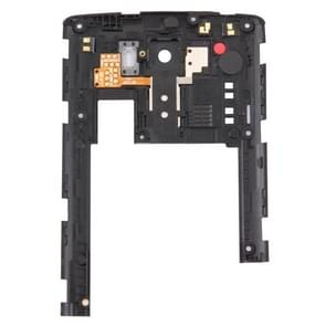 Achterplaat huisvesting Camera Lens Panel vervanging voor LG G3 / D855(Black)