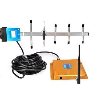 Mobiele LED GSM 980MHz signaal booster/signaal repeater met Yagi antenne (goud)