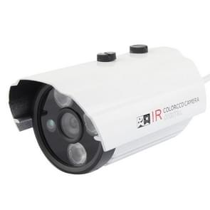 CMOS 420TVL 6mm lens metaal materiaal array LED kleur infrarood camera met 3 LED  IR afstand: 20m