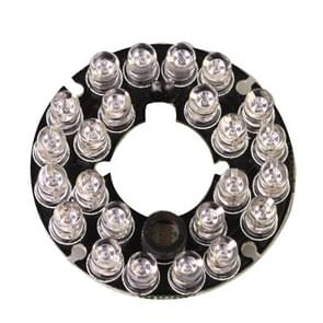 24 LED 5mm infraroodlamp Board voor CCD Camera  IR afstand: 20m