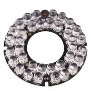 36 LED 8mm infrarood lamp Board voor CCD camera  IR afstand: 50m