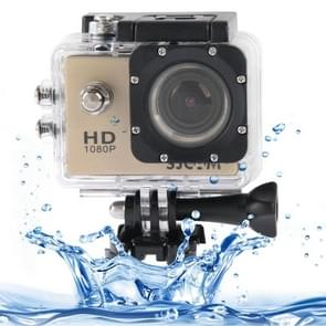 SJCAM SJ4000 Full HD 1080P 1.5 inch LCD Sports Camcorder met Waterdicht hoesje, 12.0 Mega CMOS Sensor, 30m Waterdicht(Goud)