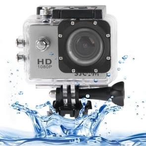 SJCAM SJ4000 Full HD 1080P 1.5 inch LCD Sports Camcorder met Waterdicht hoesje, 12.0 Mega CMOS Sensor, 30m Waterdicht(zilver)