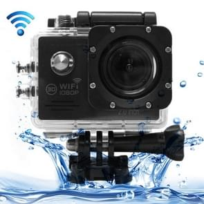 SJ7000 Full HD 1080P 2.0 inch LCD scherm Novatek 96655 WiFi Sports Camcorder Camera met waterdichte behuizing, 170 graden HD groothoeklens, 30m waterdicht(zwart)