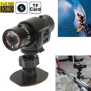 F9 Full HD 1080P Action Helmet Camera / Sports Camera / Fietscamera, ondersteunt TF kaart, 120 graden groothoeklens