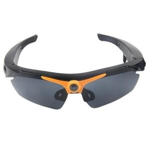 2 in 1 Sports Sunglasses + 1.3 Megapixel Camera  70 Degree Wide Angle HD Lens  Support TF(Orange)