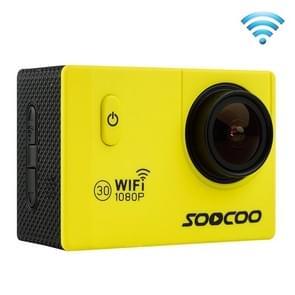 SOOCOO C10S HD 1080P NTK96655 2.0 inch LCD scherm WiFi Sports Camcorder met waterdichte behuizing, 170 graden groothoeklens, 30m waterdicht