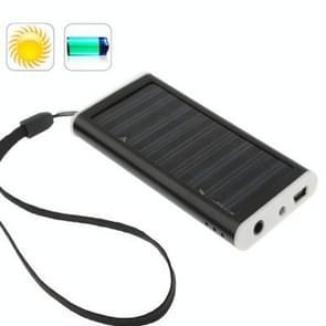 1350mAh Solar Charger voor mobiele telefoon  digitale camera  PDA  MP3/MP4-speler(Zwart)