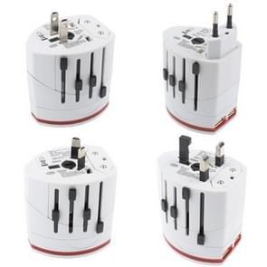 Stekkeradapter  World Travel Adapter 2 & USB lader
