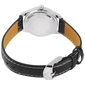 Black Dial vrouwen Quartz Leather Watch / Watch (8804) (echt) paar