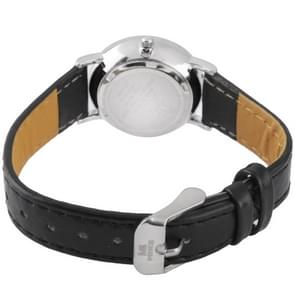 Black Dial vrouwen Quartz Leather Watch / paar van horloge (8062A)