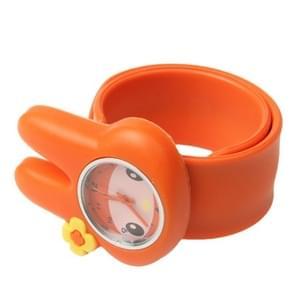 Schattig konijn Style Case Quartz horloge