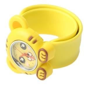 Schattig Tiger Style Case Quartz horloge