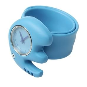 Schattig olifant Style Case Quartz horloge