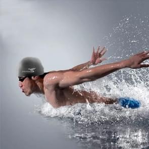 Pure Color Style Elastic Silicone Swimming Cap / Swimming Hat  SC208(Black)