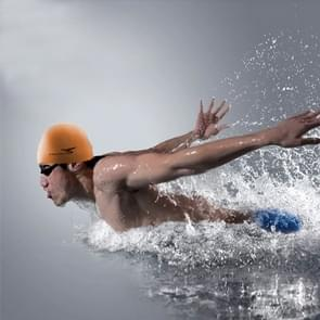 Pure Color Style Elastic Silicone Swimming Cap / Swimming Hat  SC310(Orange)