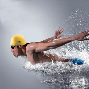 Pure Color Style Elastic Silicone Swimming Cap / Swimming Hat  SC302(Yellow)