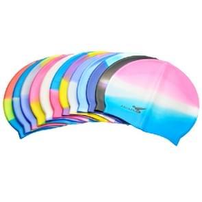 Swimming Cap  Excellent Waterproof Swimming Hat  Elastic Silicone Hot Spring Cap (MC502)