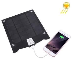 draagbare 5W 5V 1A zonnepaneel Lader voor mobiele telefoons & Digitale Camera & MP3 & MP4 & iPad