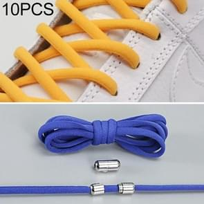 10 pairs elastische elastische metalen gesp zonder koppelveters (blauw)