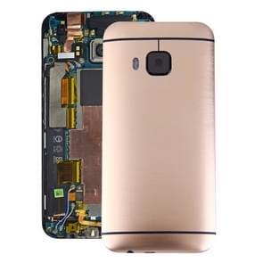 Achterzijde van de behuizing voor HTC One M9(Gold)