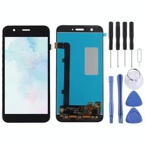 LCD-scherm en Digitizer voor Vodafone Smart Prime 7 VF600 / VFD600 / VF D600(Black)