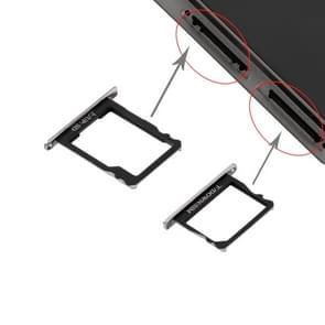 Huawei P8 SIM-kaarthouder en Micro SD Card Tray(Black)