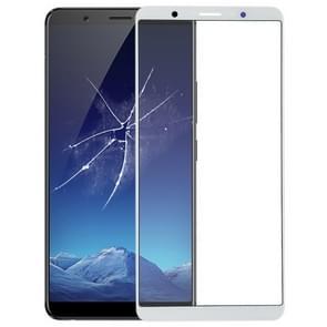 Voorste scherm buitenste glaslens voor Vivo X20 Plus(White)