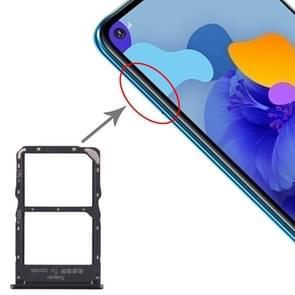 SIM-kaart lade + NM kaart lade voor Huawei mate 30 Lite (zwart)