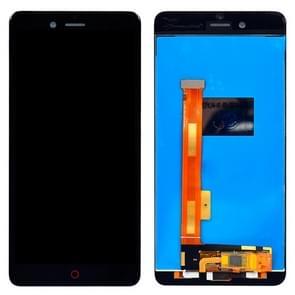 ZTE Nubia Z17 Mini / NX569J / NX569H LCD-scherm en Digitizer Full Assembly(Black)