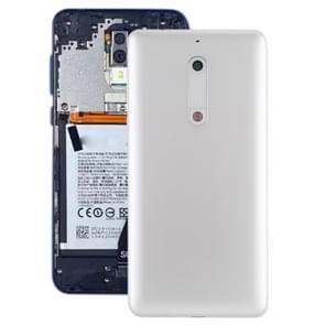 Batterij achtercover met camera lens & toetsen aan de zijkant voor Nokia 5 (wit)