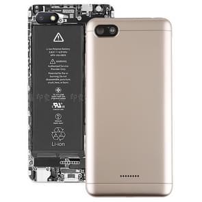 Achterste schutblad met Zijtoetsen voor Xiaomi Redmi 6A(Gold)