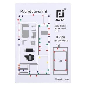 JIAFA JF-870 Magnetic Pad Schroefbord voor iPhone 11