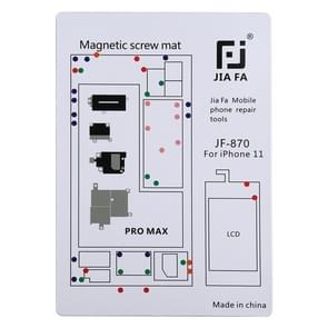 JIAFA JF-870 Magnetic Pad Schroefbord voor iPhone 11 Pro Max