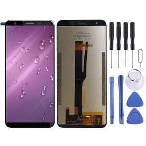 LCD-scherm en digitizer volledige montage voor Ulefone Note 7 (zwart)