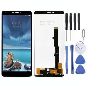 LCD-scherm en digitizer volledige assemblage voor ZTE Blade A7 Vita / A0722 (zwart)