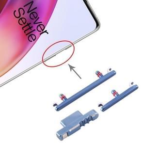 Aan/uit-knop en volumeknop voor OnePlus 8 (blauw)