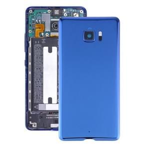 Batterij back cover met camera lens cover voor HTC U Ultra (Blauw)