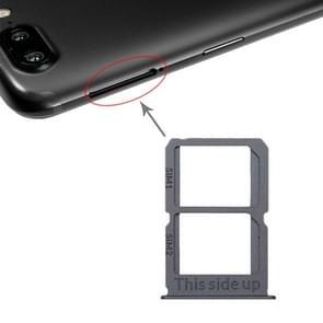 Grijze SIM-kaart lade + SIM-kaart lade voor OnePlus 5T A5010