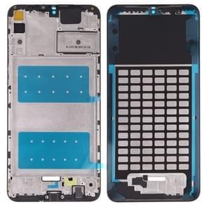 Front behuizing LCD frame bezel plaat voor Huawei Honor 8X Max (zwart)
