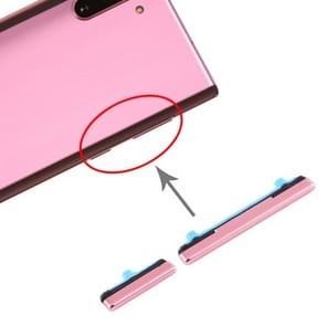 Aan/uit-knop en volumeknop voor Samsung Galaxy Note10 (roze)