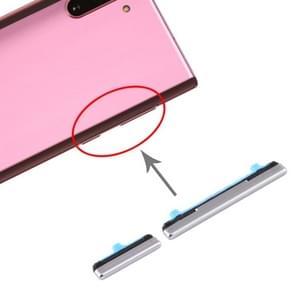 Aan/uit-knop en volumeknop voor Samsung Galaxy Note10 (Zilver)